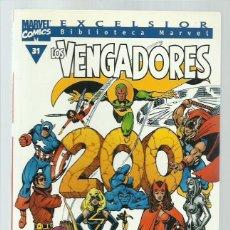 Comics: BIBLIOTECA MARVEL: LOS VENGADORES 31, 2001, FORUM, MUY BUEN ESTADO. Lote 234829035