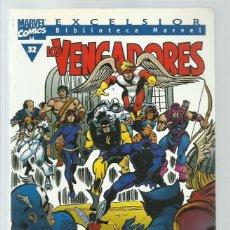 Cómics: BIBLIOTECA MARVEL: LOS VENGADORES 32, 2001, FORUM, MUY BUEN ESTADO. Lote 268778504