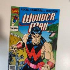 Cómics: WONDER MAN. LUCES, CÁMARAS... ¡ACCIÓN! - Nº 1. COMICS FORUM.. Lote 234839405