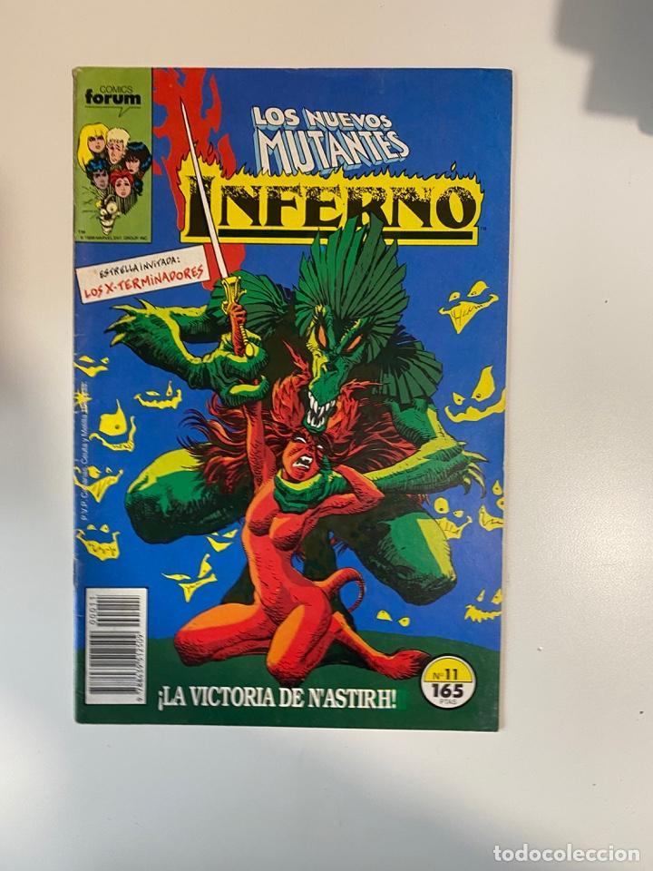 LOS NUEVOS MUTANTES. INFERNO. Nº 11 - ¡LA VICTORIA DE N'ASTIRH! COMICS FORUM. (Tebeos y Comics - Forum - Nuevos Mutantes)