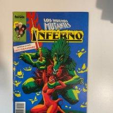 Cómics: LOS NUEVOS MUTANTES. INFERNO. Nº 11 - ¡LA VICTORIA DE N'ASTIRH! COMICS FORUM.. Lote 234842470