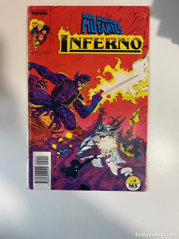 LOS NUEVOS MUTANTES. INFERNO. Nº 19 - COMICS FORUM. (Tebeos y Comics - Forum - Nuevos Mutantes)