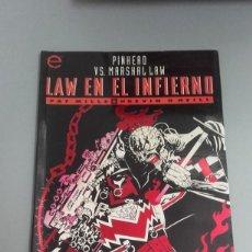 Comics : X PINHEAD VS MARSHALL LAW. LAW EN EL INFIERNO, DE PAT MILLS Y KEVIN O ´NEILL (FORUM). Lote 234866230