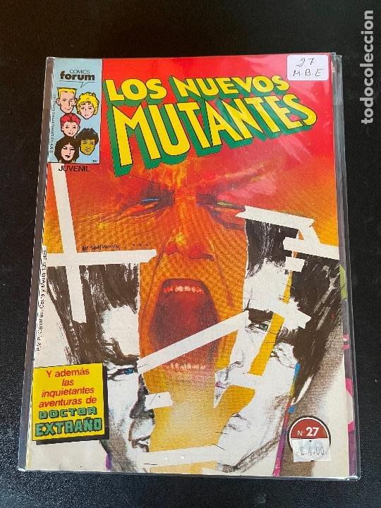 FORUM LOS NUEVOS MUTANTES NUMERO 27 BUEN ESTADO (Tebeos y Comics - Forum - Nuevos Mutantes)