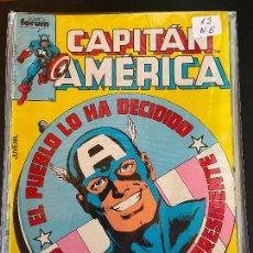 Cómics: FORUM CAPITAN AMERICA NUMERO 12 NORMAL ESTADO. Lote 234886845