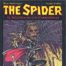 Cómics: THE SPIIDER. RÉQUIEM DE LOS CARROÑEROS. GENE COLAN Y DON MCGREGOR. PLANETA, 2002. Lote 234922170
