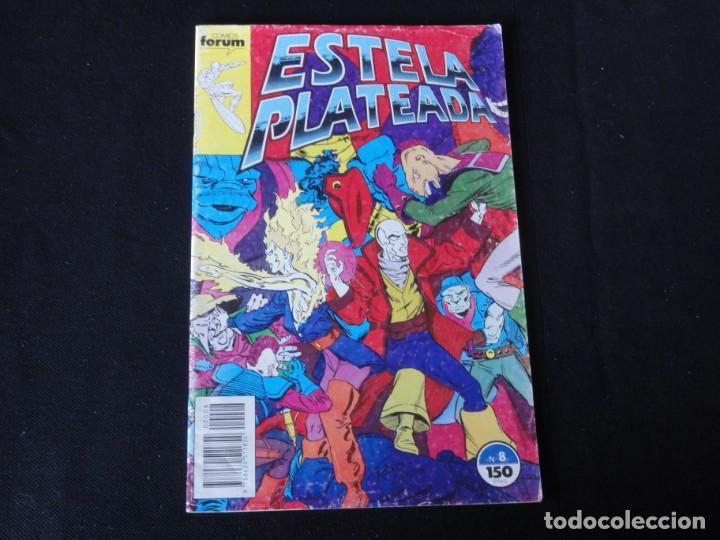 ESTELA PLATEADA- Nº 8. 1989. VOLUMEN 1. EDITORIAL FORUM. C-73 (Tebeos y Comics - Forum - Silver Surfer)