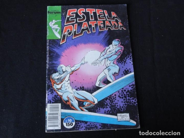ESTELA PLATEADA. Nº 10. 1989. VOLUMEN 1. EDITORIAL FORUM. C-73 (Tebeos y Comics - Forum - Silver Surfer)