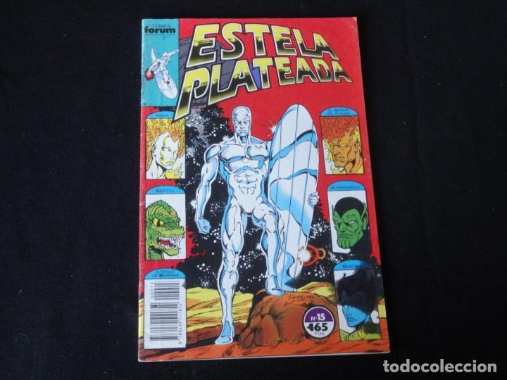 ESTELA PLATEADA. Nº 15. 1989. VOLUMEN 1. EDITORIAL FORUM. C-73 (Tebeos y Comics - Forum - Silver Surfer)