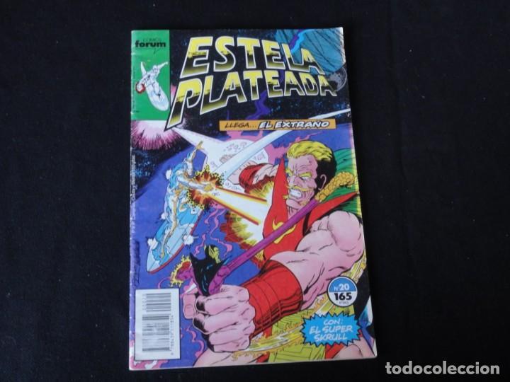 ESTELA PLATEADA. Nº 20. 1989. VOLUMEN 1. EDITORIAL FORUM. C-73 (Tebeos y Comics - Forum - Silver Surfer)