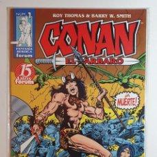 Cómics: CONAN EL BARBARO 2ª EDICION Nº 1 AL 98 (COMPLETA) (FORUM). Lote 227781929