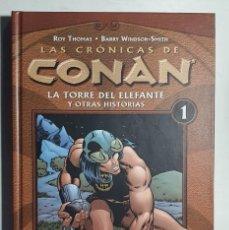 Cómics: LAS CRONICAS DE CONAN Nº N1 AL 34 (COMPLETA) (PLANETA). Lote 227929628
