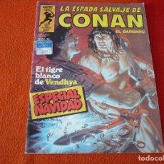 Cómics: LA ESPADA SALVAJE DE CONAN Nº 46 ESPECIAL NAVIDAD ¡BUEN ESTADO! MARVEL SERIE ORO PRIMERA 1ª EDICION. Lote 235042960