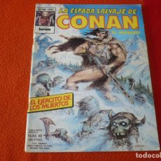 Cómics: LA ESPADA SALVAJE DE CONAN Nº 48 ¡BUEN ESTADO! FORUM MARVEL SERIE ORO PRIMERA 1ª EDICION. Lote 235043220