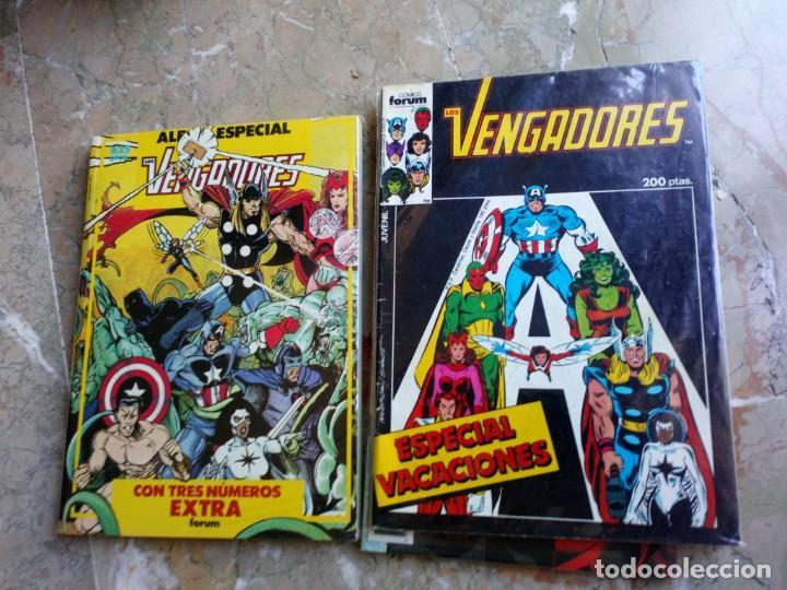 Cómics: Los Vengadores Vol. 1 132 Números Más 8 especiales FORUM Muy Buen Estado - Foto 3 - 235111420