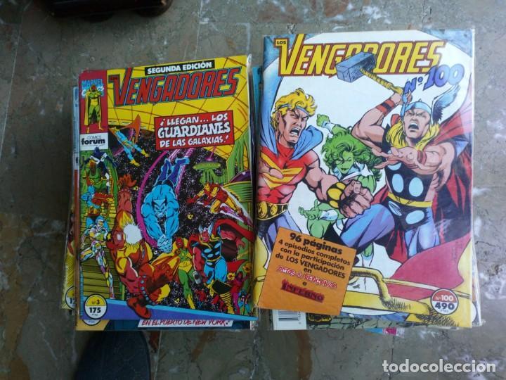 Cómics: Los Vengadores Vol. 1 132 Números Más 8 especiales FORUM Muy Buen Estado - Foto 4 - 235111420