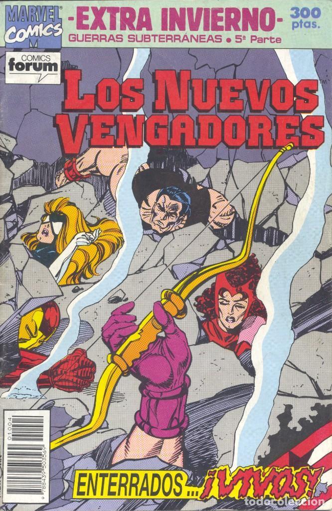 NUEVOS VENGADORES EXTRA INVIERNO. GUERRAS SUBTERRÁNEAS. FORUM, 1992 (Tebeos y Comics - Forum - Vengadores)