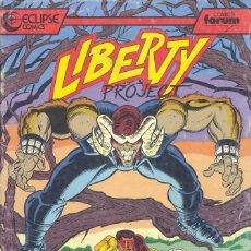 Cómics: LIBERTY PROJECT 2. FORUM, 1990. Lote 235140360