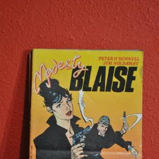 Cómics: MODESTY BLAISE. SERIE COMPLETA DE 7 NÚMEROS. Lote 235145755