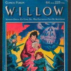 Cómics: WILLOW . FORUM JO DUFFY, BOB HALL, ROMEO TANGHAL. VERSIÓN OFICIAL EN COMIC. Lote 235192755