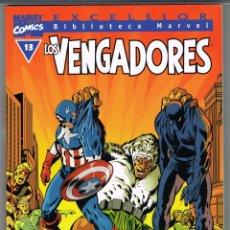 Cómics: BIBLIOTECA MARVEL. LOS VENGADORES NUMERO 13. Lote 235244955