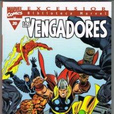 Cómics: BIBLIOTECA MARVEL. LOS VENGADORES NUMERO 20. Lote 235245430