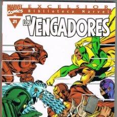 Cómics: BIBLIOTECA MARVEL. LOS VENGADORES NUMERO 21. Lote 235245480