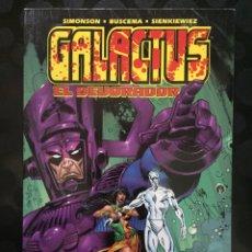 Cómics: GALACTUS : EL DEVORADOR ( 2000 ). Lote 235249775