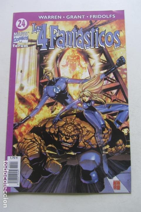 LOS 4 FANTÁSTICOS VOL.IV Nº 24 PACHECO FORUM MUCHOS EN VENTA PIDE FALTAS ARX2 (Tebeos y Comics - Forum - 4 Fantásticos)
