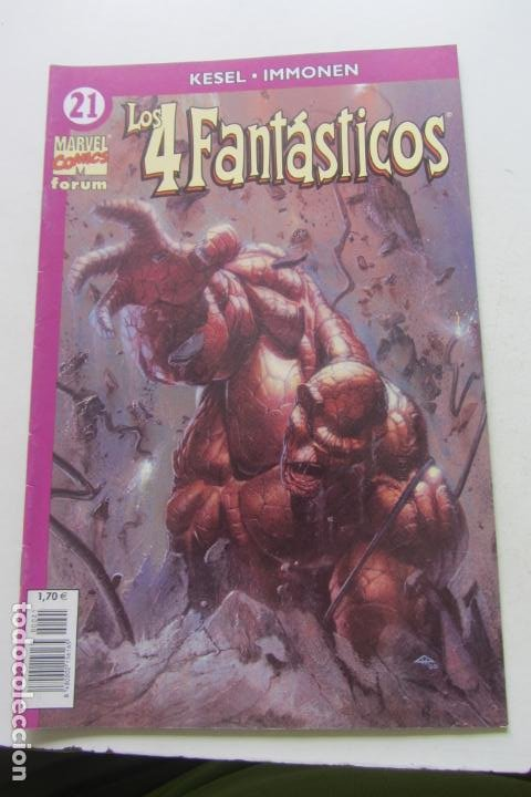 LOS 4 FANTÁSTICOS VOL.IV Nº 21 FORUM MUCHOS EN VENTA PIDE FALTAS ARX2 (Tebeos y Comics - Forum - 4 Fantásticos)