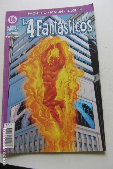 LOS 4 FANTÁSTICOS VOL.IV Nº 16 FORUM MUCHOS EN VENTA PIDE FALTAS ARX2 (Tebeos y Comics - Forum - 4 Fantásticos)