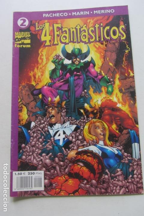LOS 4 FANTÁSTICOS VOL.IV Nº 2 FORUM MUCHOS EN VENTA PIDE FALTAS ARX2 (Tebeos y Comics - Forum - 4 Fantásticos)