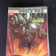 Cómics: PANINI WORLD WAR HULK NUMERO 1 Y 2 BUEN ESTADO. Lote 235260585