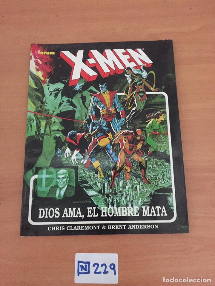 NOVELAS GRÁFICAS FORUM-- X-MEN -- DIOS AMA, EL HOMBRE MATA (Tebeos y Comics - Forum - X-Men)