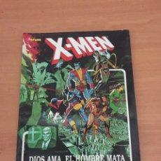 Cómics: NOVELAS GRÁFICAS FORUM-- X-MEN -- DIOS AMA, EL HOMBRE MATA. Lote 235272450