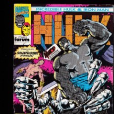 Cómics: INCREIBLE HULK & IRON MAN Nº 2 - FORUM -. Lote 235275000