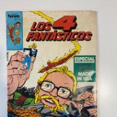 Cómics: LOS 4 FANTÁSTICOS. Nº 21. EDICIONES FORUM. 1984. Lote 235278615