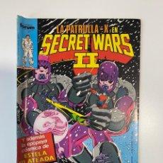 Cómics: LA PATRULLA-X EN SECRET WARS II. Nº 43. COMICS FORUM.. Lote 235279130
