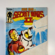 Cómics: IRON MAN EN SECRET WARS II. Nº 17 - Y LAS GUERRAS SECRETAS CONTINUAN. COMICS FORUM.. Lote 235279595