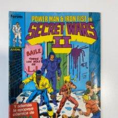 Cómics: POWER MAN & IRON FIST EN SECRET WARS II. Nº 38 - Y LAS GUERRAS SECRETAS CONTINUAN. COMICS FORUM. Lote 235280320