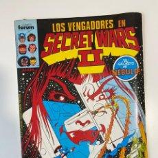 Cómics: LOS VENGADORES EN SECRETO WARS II. Nº 24 - EL SECRETO DE NÉBULA. COMICS FORUM.. Lote 235280355