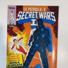 Cómics: LA PATRULLA-X EN SECRET WARS II. Nº 47 - Y LAS GUERRAS SECRETAS CONTINUAN. COMICS FORUM. Lote 235280505