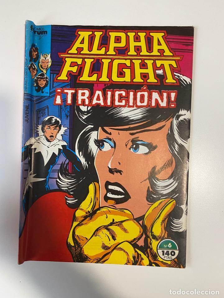 ALPHA FLIGHT. Nº 6 - ¡TRAICIÓN! COMICS FROUM. (Tebeos y Comics - Forum - Alpha Flight)