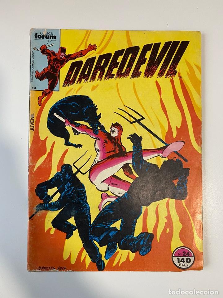 DAREDEVIL. Nº 24. COMICS FORUM. (Tebeos y Comics - Forum - Daredevil)