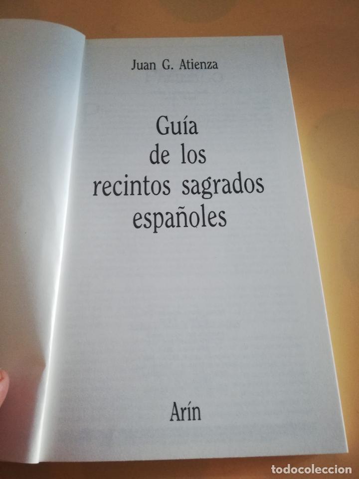 Cómics: GUIA DE LOS RECINTOS SAGRADOS ESPAÑOLES. JUAN G. ATIENZA. 1ª EDICION 1986. - Foto 2 - 235280955