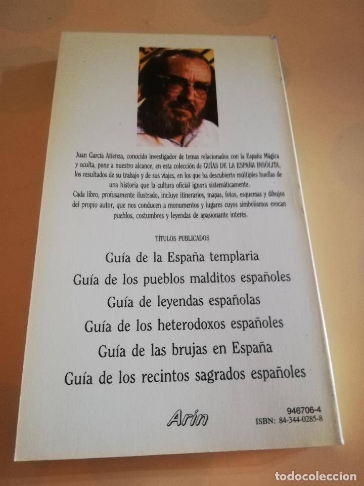 Cómics: GUIA DE LOS RECINTOS SAGRADOS ESPAÑOLES. JUAN G. ATIENZA. 1ª EDICION 1986. - Foto 4 - 235280955