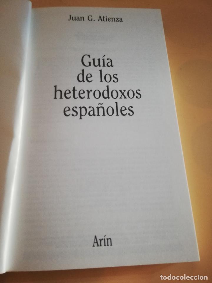 Cómics: GUIA DE LOS PUEBLOS HETERODOXOS ESPAÑOLES. JUAN G. ATIENZA. 1ª EDICION 1985. - Foto 2 - 235281260