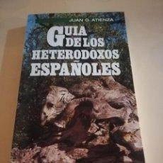 Cómics: GUIA DE LOS PUEBLOS HETERODOXOS ESPAÑOLES. JUAN G. ATIENZA. 1ª EDICION 1985.. Lote 235281260