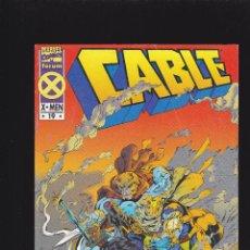 Cómics: CABLE - VOL. 1 - Nº 19 - EL VIAJE OSCURO 1ª PARTE: EL DÍA DEL JUICIO - FORUM -. Lote 235291790