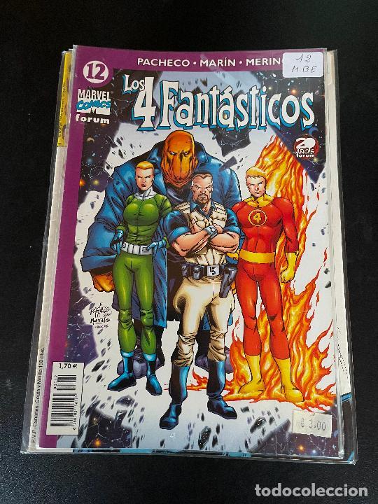 FORUM LOS 4 FANTASTICOS NUMERO 12 BUEN ESTADO (Tebeos y Comics - Forum - 4 Fantásticos)